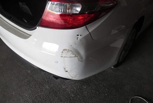 Before Bumper Repair