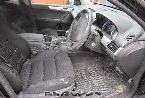 Before Car Detailing